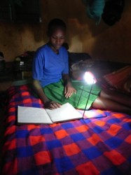 A simple solar light can mean the difference between success and failure for a student