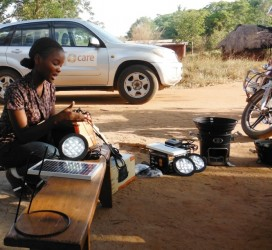 CARE Tanzania facilitates the ARTI Energy team to reach VAs in most remote villages.